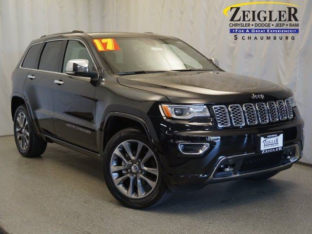 2017 Jeep Grand Cherokee Overland In Grand Rapids, MI   Zeigler Ford Of  Lowell